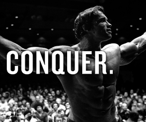 arnold, conquer, and ripped image