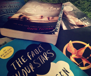 books, looking for alaska, and if i stay image