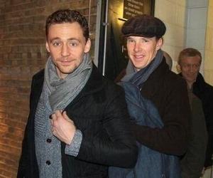 porn, tom hiddleston, and benedict cumberbatch image