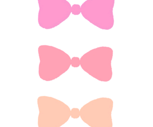 bows, girly, and pink image
