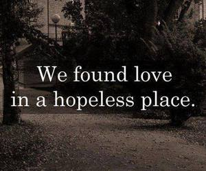 love, rihanna, and hopeless image