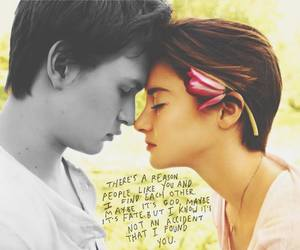 hazel, the fault in our stars, and tfios image