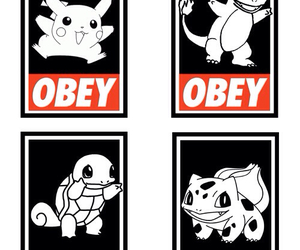 obey and pokemon image