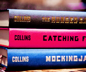 books, the hunger games, and tribute image