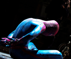 handsome, photoshoot, and spiderman image