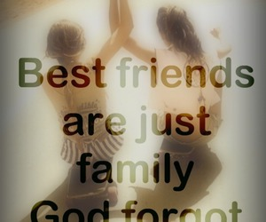 best friends, sweet, and girl image