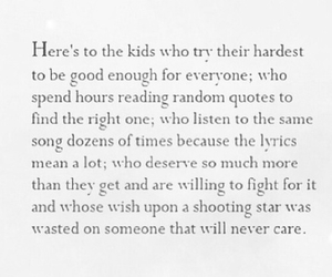 quote, teenager, and kids image