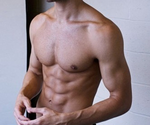 abs, handsome, and summer image