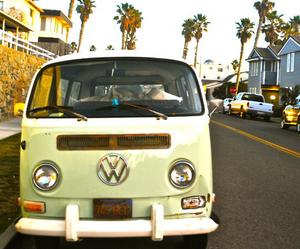 car, summer, and van image