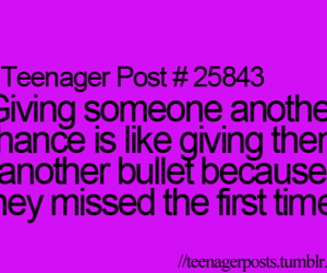second chance and teenager posts image