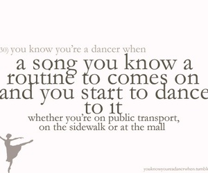 ballet, dance, and text image