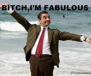 fabulous, mr bean, and funny image
