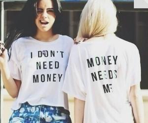 money, girl, and need image