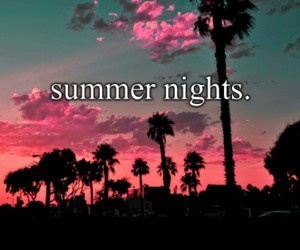 love it, nights, and summer image