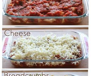casserole, Chicken, and cheese image