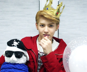 exo, kris, and miss you image