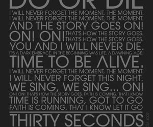 do or die, 30 seconds to mars, and jared leto image