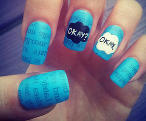 nails, tfios, and okay image