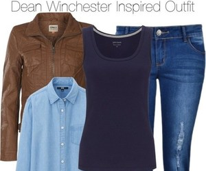 clothes, dean, and outfit image