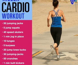 cardio, workout, and fitness image