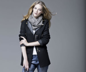 black, clothes, and model image