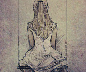 beautiful, draw, and Ilustration image