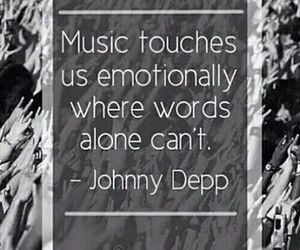 music, johnny depp, and true image