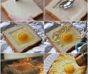 egg, food, and cheese image