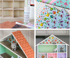 creative, diy, and doll house image