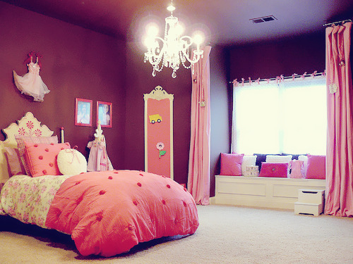 50 Images About Bedroom On We Heart It See More Room Pink And Princess