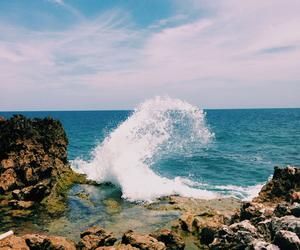 beautiful, haiti, and sea image