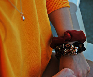 bracelet, chouchou, and collier image