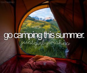 beautiful, before i die, and camping image