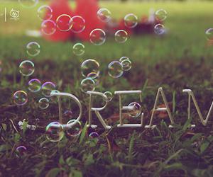 Dream and bubbles image