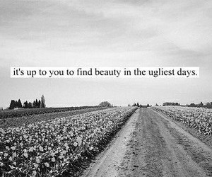 quote, black and white, and ugly image