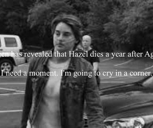August, crying, and fml image