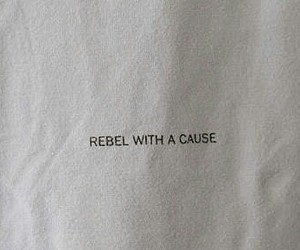 rebel with a cause image