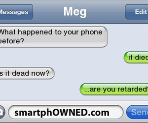 phone, funny, and text image