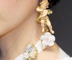 earrings, fashion, and angel image