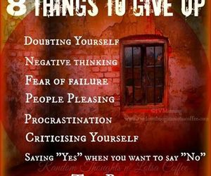 8 things to give up image