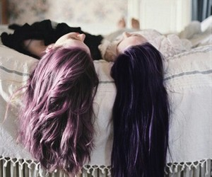 awesome, dyed hair, and fashion image