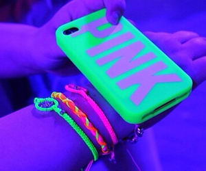 case, green, and neon green image