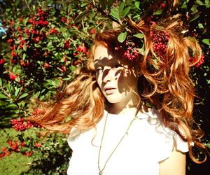 redhead and nature image