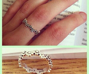 ring, love, and cute image