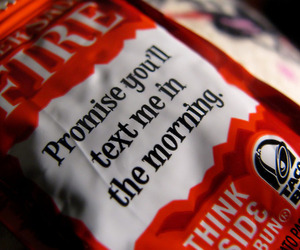 taco bell, text, and sauce image