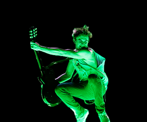 guitar, jump, and McFly image