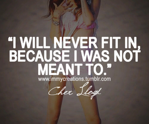 cher lloyd and quote image