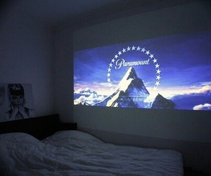 movie, bed, and room image