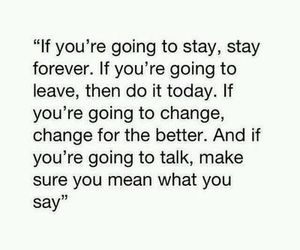 quote, stay, and forever image