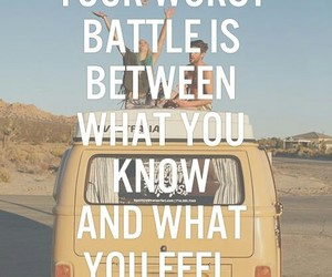 battle, feel, and quote image